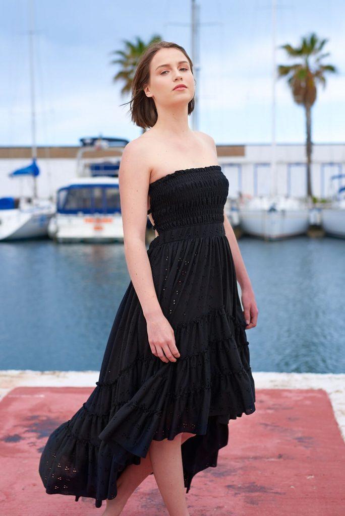 Vestidos negros escotados de espalda, Isabelas Bcn