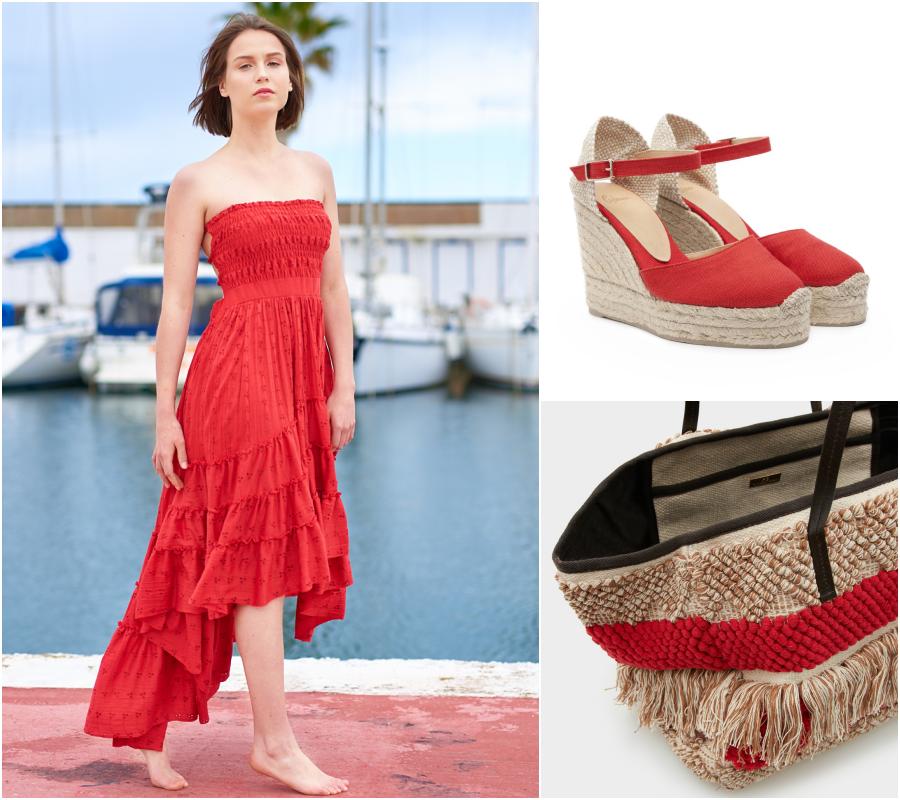 Vestidos rojos escotados de espalda, Isabelas Bcn